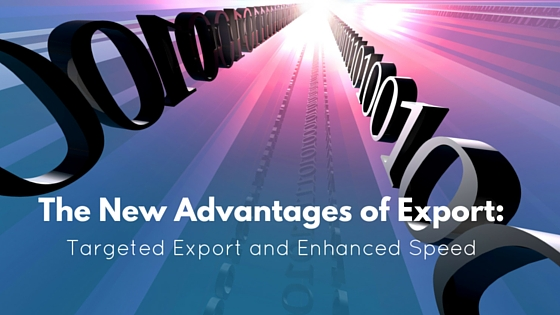 The New Advantages of Export