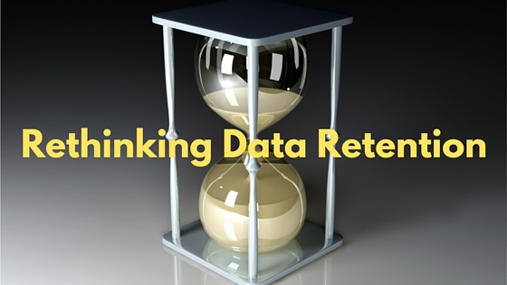 Rethinking Data Retention