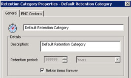 Default Retention Category Image