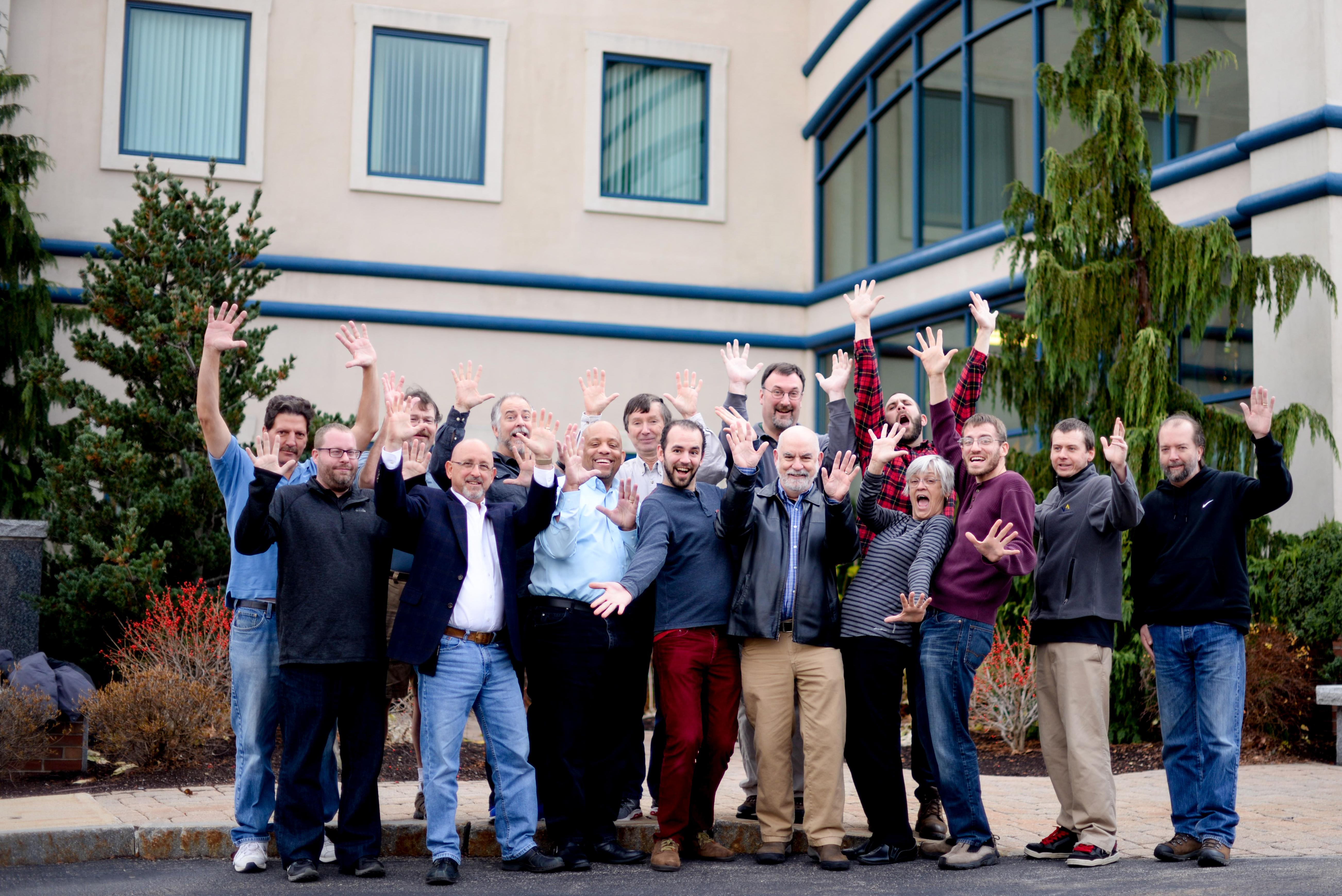 Vault Solutions team celebrates 10 years