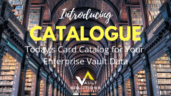 Catalogue - The New Card Catalog for Your Data - Dark Library Image
