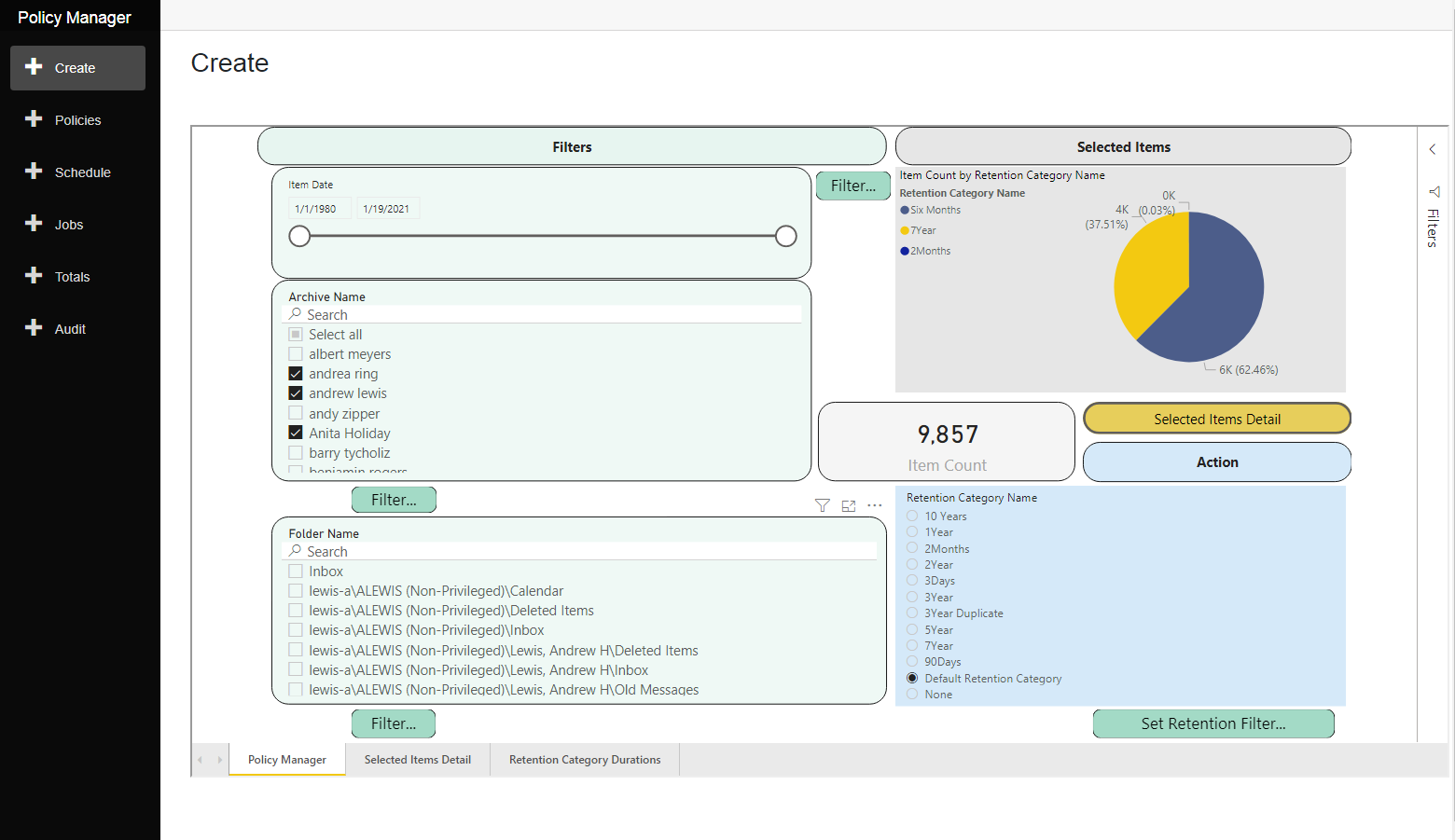 Policy Manager Screenshot